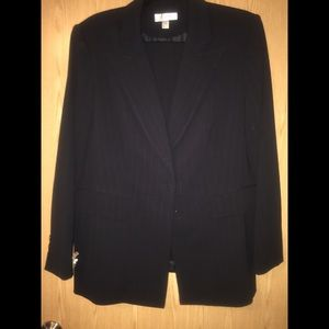 Women's size 14 pinstriped pant suit